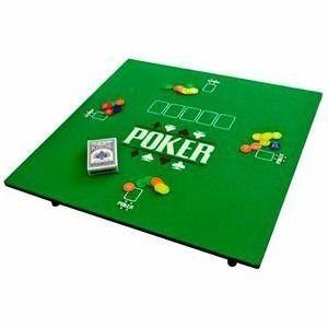 Mesa de Tabuleiro de Jogo de Poker e Carteado