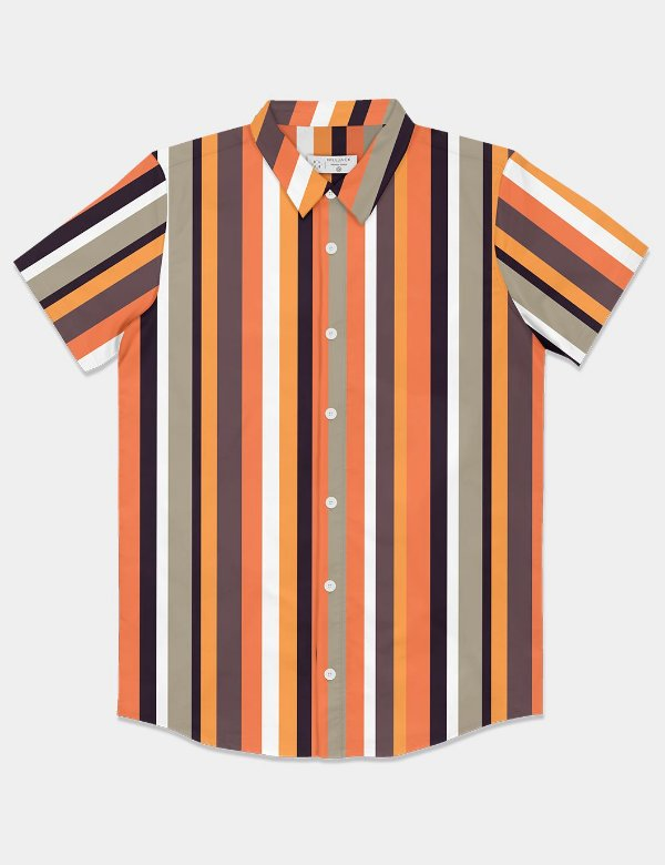 Camisa Colored Stripes