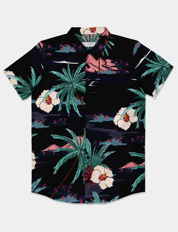 Camisa Tropical Night