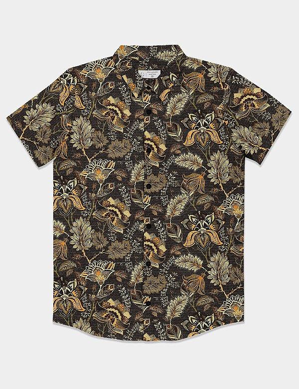 Camisa Folhagem
