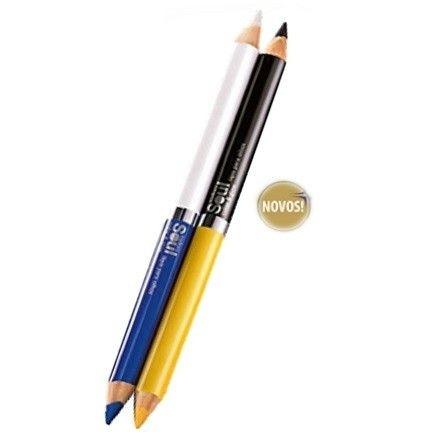 Lápis Para Olhos Eudora Soul Color e Glow com 2 Cores - 1,2g