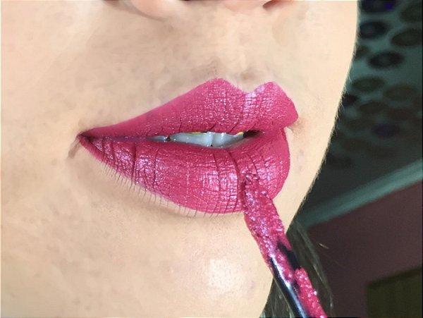 Batom Líquido Metálico Ricosti - Cor Kiss - 4,5 ml