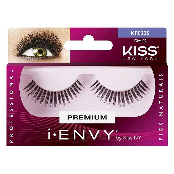Cilios Postiços Diva 02 I-ENVY Kiss New York - KPE22S