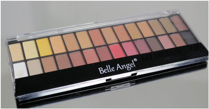 Paleta de Sombras Belle Angel com 28 cores B013-1 - 22,4g