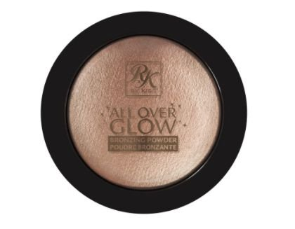 Bronzer e Iuminador All Over Glow RK by Kiss - Flushed Glow 11,6g