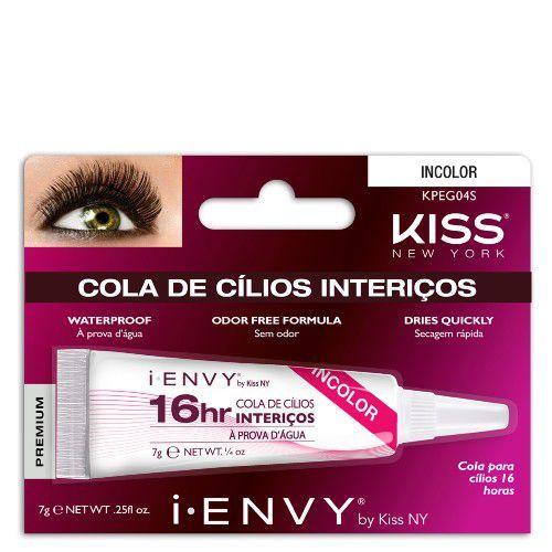 Cola para Cilios Postiços First Kiss 16 Horas I-ENVY - 7g - KPEG04S