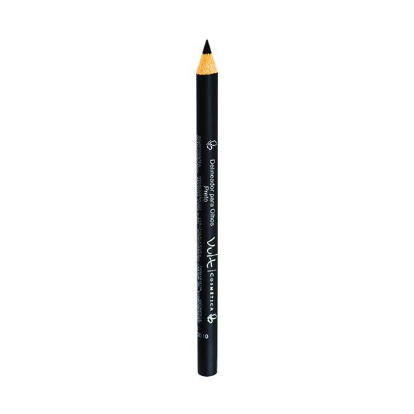 Lapis Madeira Delineador Para Olhos Preto Vult - 1,2g