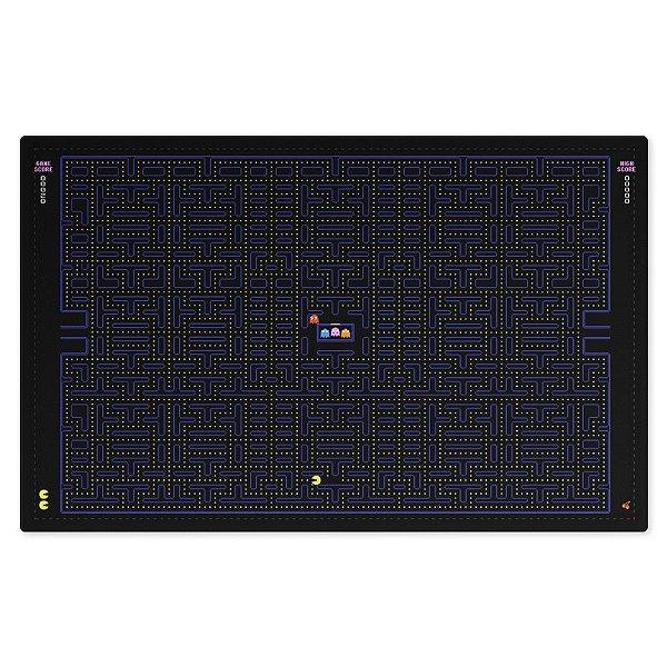 Jogo Americano (Kit 4 Unidades) Nerderia e Lojaria pacman black colorido