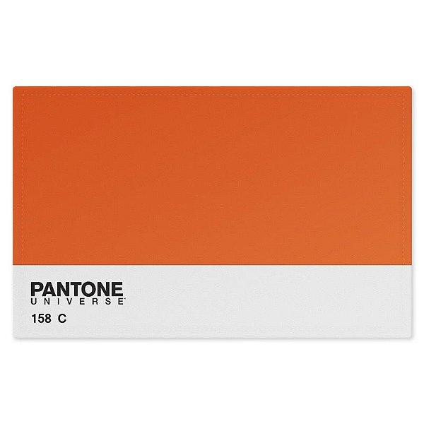 Jogo Americano (Kit 4 Unidades) Nerderia e Lojaria pantone laranja colorido
