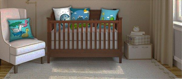 Combo Ambiente decorativo para bebes Nerderia e Lojaria baby2 colorido