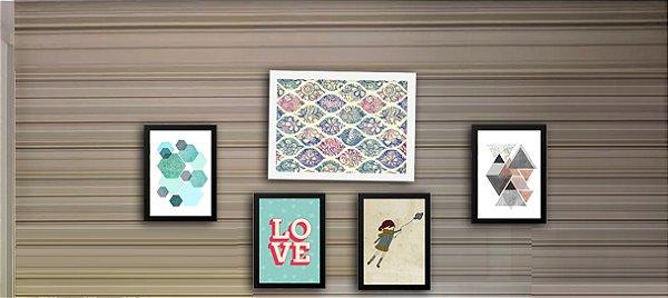 Combo Ambiente decorativo para quartos Nerderia e Lojaria quart1 colorido
