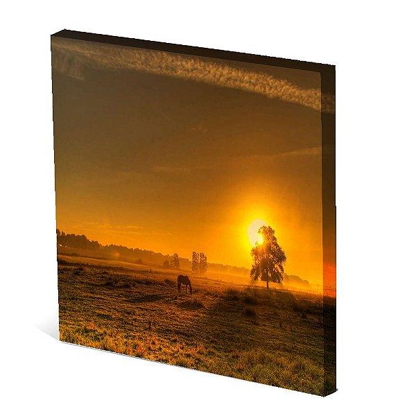 Tela Canvas 30X30 cm Nerderia e Lojaria paisagem3 colorido