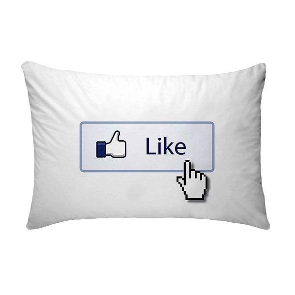 Fronha Para Travesseiros Nerderia e Lojaria facebook like colorido