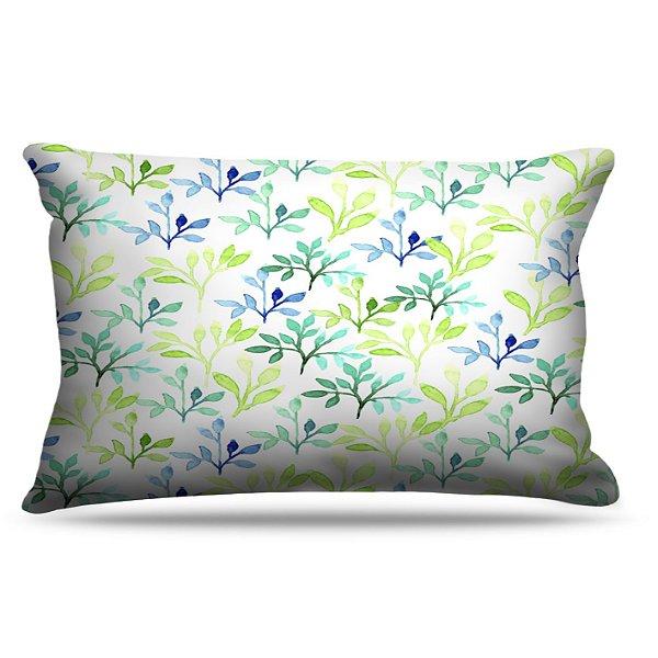 Fronha Para Travesseiros Nerderia e Lojaria folhas colorido