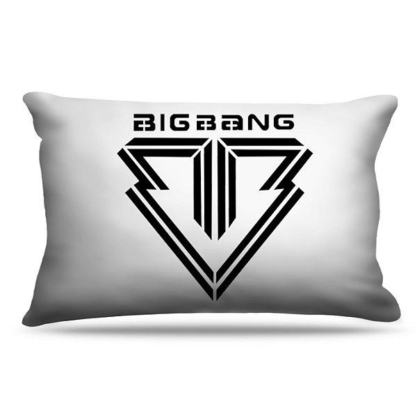 Fronha Para Travesseiros Nerderia e Lojaria kpop big bang colorido