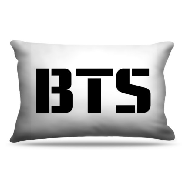 Fronha Para Travesseiros Nerderia e Lojaria KPOP BTS colorido