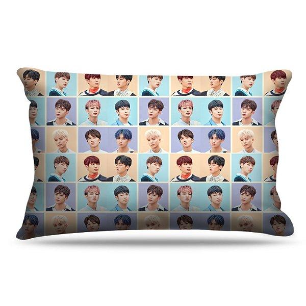 Fronha Para Travesseiros Nerderia e Lojaria kpop sf9 coreanos colorido