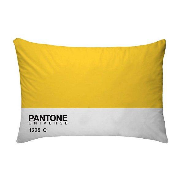Fronha Para Travesseiros Nerderia e Lojaria pantone amarelo colorido