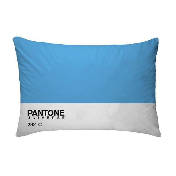 Fronha Para Travesseiros Nerderia e Lojaria pantone azul colorido