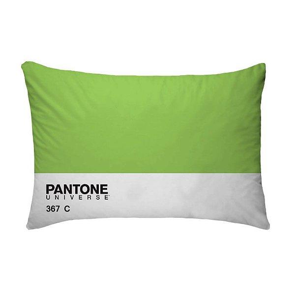 Fronha Para Travesseiros Nerderia e Lojaria pantone verde colorido