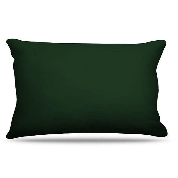 Fronha Para Travesseiros Nerderia e Lojaria verde escuro colorido