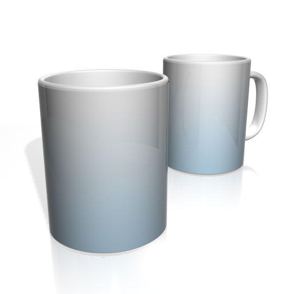Caneca De Porcelana Nerderia e Lojaria azul branco  colorido