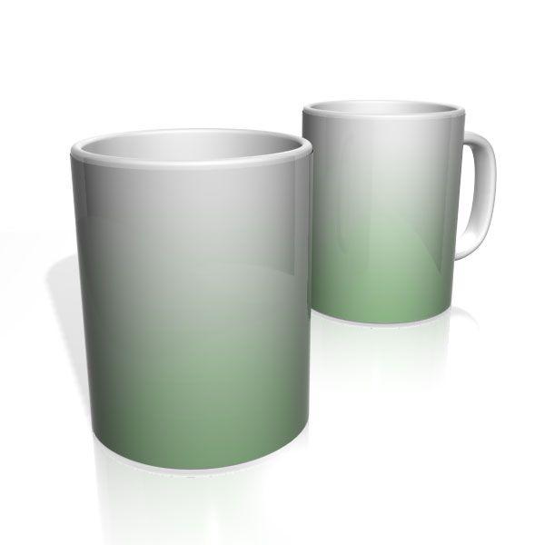 Caneca De Porcelana Nerderia e Lojaria verde branco colorido