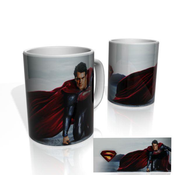 Caneca decorativa Nerderia e Lojaria superman03 colorido
