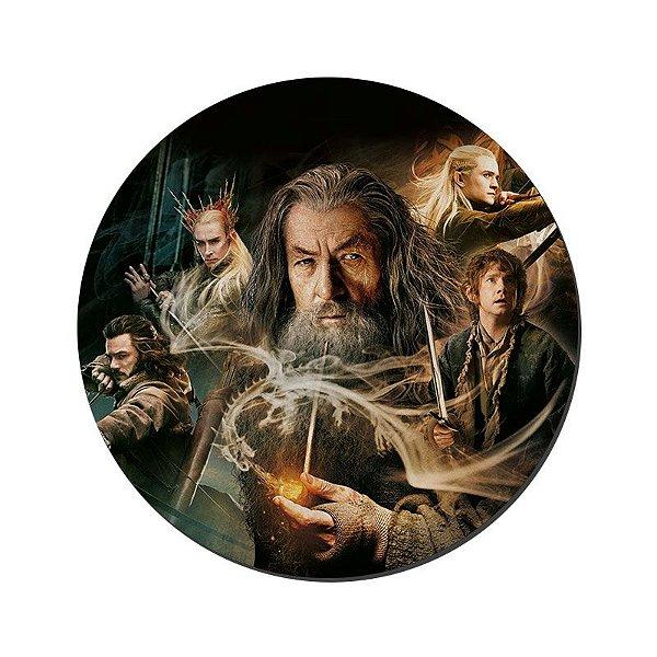 MOUSE PAD GAMER PEQUENO 20x24 cm Nerderia e Lojaria hobbit colorido