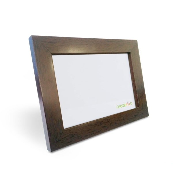porta Retrato 15x21 cm Nerderia e Lojaria basico madeira basico madeira