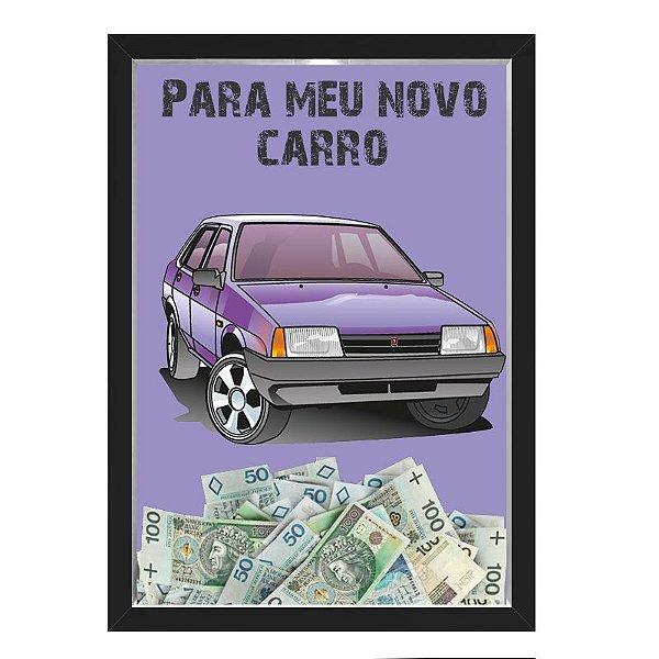 Quadro CAIXA COFRE 33x43 cm NERDERIA E LOJARIA car13 preto