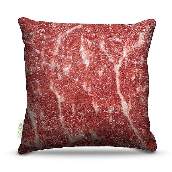 Almofada 45 x 45cm  Nerderia e Lojaria carne colorido