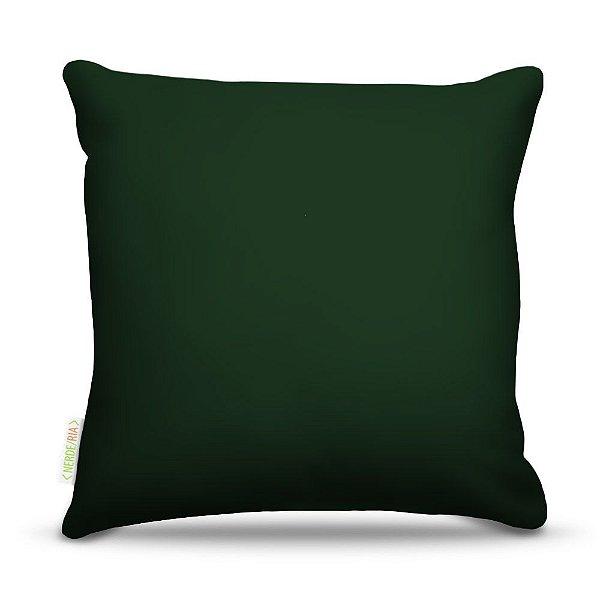 Almofada 45 x 45cm  Nerderia e Lojaria verde colorido