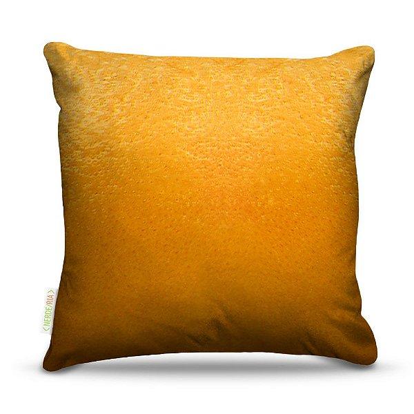 Almofada 45 x 45cm  Nerderia e Lojaria laranja colorido