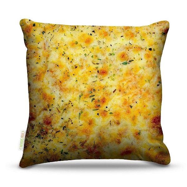 Almofada 45 x 45cm  Nerderia e Lojaria pizza colorido