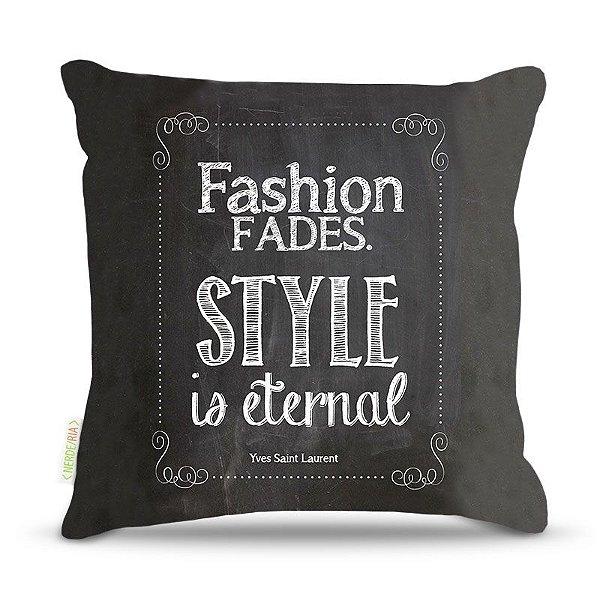 Almofada 40 x 40cm Nerderia e Lojaria fashion fades colorido