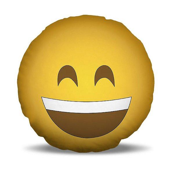 Almofada 40 x 40cm Nerderia e Lojaria smile sorrindo.png colorido