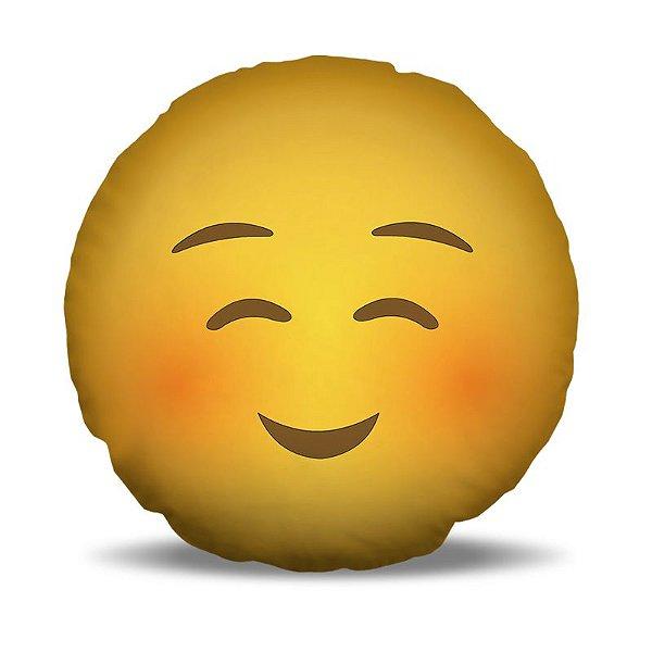 Almofada 40 x 40cm Nerderia e Lojaria smile vergonha.png colorido