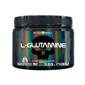 L- Glutamine 100g - Black Skull