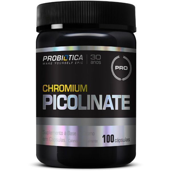 Chromium Picolinate 100 Cápsulas - Probiótica