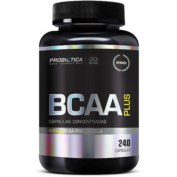 Bcaa Plus 800mg 240 Cápsulas - Probiótica
