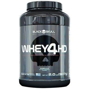 Whey 4HD 907g - Black Skull