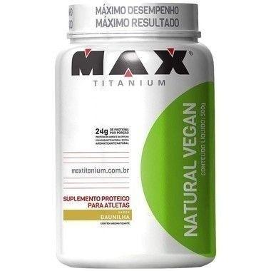 Natural Vegan 500g - Max Titanium