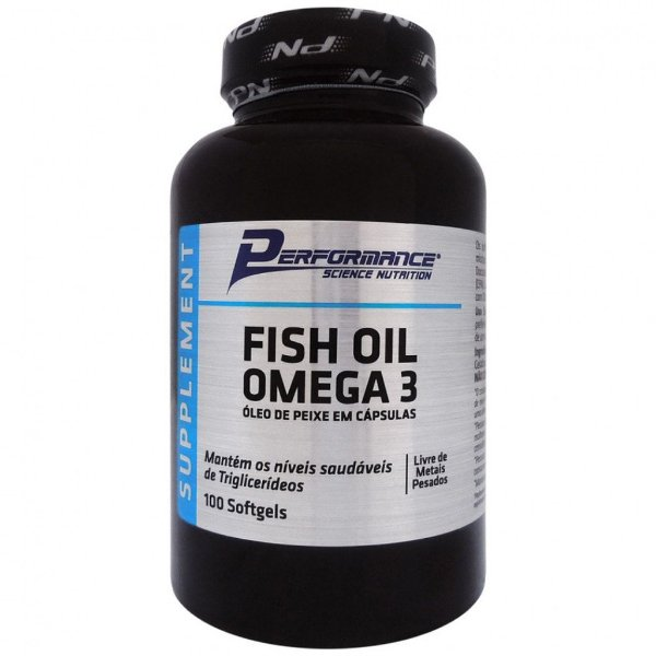 Fish Oil Ômega 3 100 Softgels - Performance Nutrition