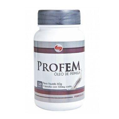 Profem Ôleo de Prímula 120 Cápsulas - Vitafor
