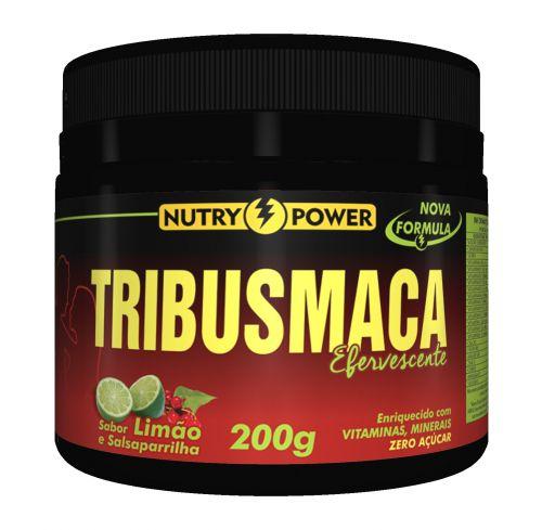 TribusMaca Tribulus e Maca Peruana Sabor Limão 200g - Nutry Power