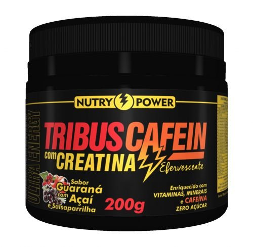 TribusCafein Com Creatina 200g - Nutry Power