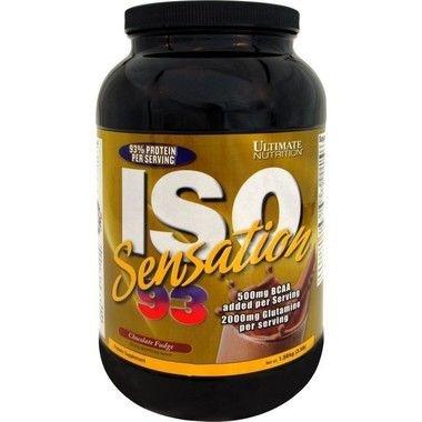 Iso Sensation 93 910g - Ultimate Nutrition