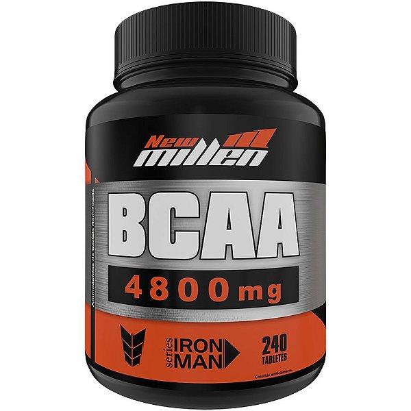 BCAA 4.800mg 240 Tabletes - New Millen