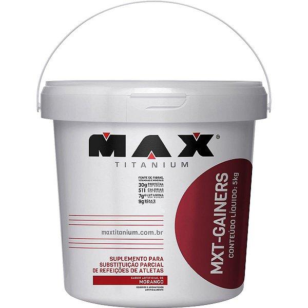 Hipercalórico MXT Gainers 5kg - Max Titanium